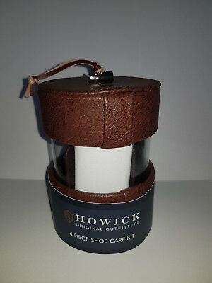 Howick 4 piece shoe care kit   HOUSE OF FRASER  RRP:£35