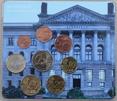 KMS Deutschland 2003 A, 'Bundesrat Berlin', 3,88€, Stgl, in Blister