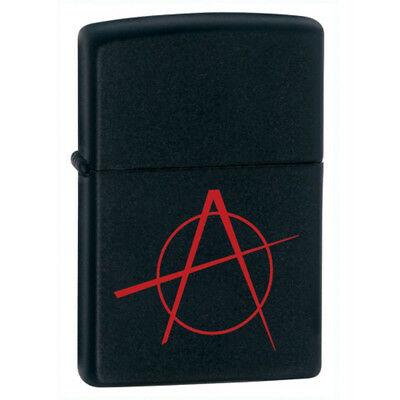 BRIQUET ZIPPO ESSENCE NEUF - ANARCHIE ROUGE ( Original , Tempete , Collection )