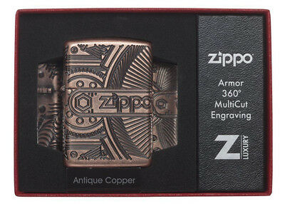 BRIQUET ZIPPO ESSENCE NEUF - ANTIQUE COPPER ( Cuivre ) ( Original , Tempete )