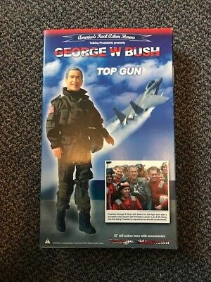 President George W Bush Top Gun Doll & Accessories Limited Edition Action Figure
