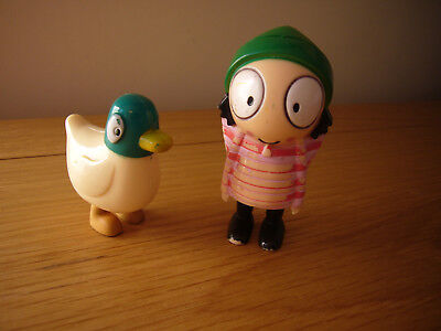 SMALL PLASTIC DUCK from CBeebies Sarah and Duck - £7.99 | PicClick UK