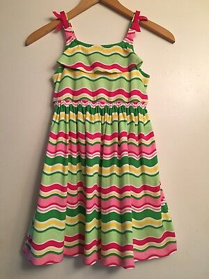 Gymboree island lily dress summer select your size NWT waves