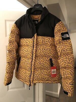 3cee6848214b The North Face 1992 Nuptse International Collection Yellow Dome Print  Supreme
