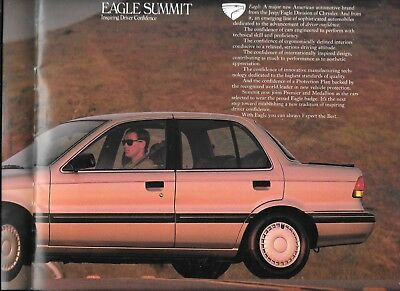 1989 Chrysler  Eagle  Summit Dealers Brochure