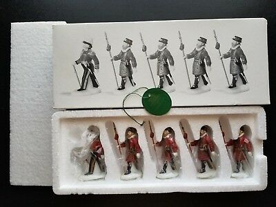 Department 56 Dickens' Heritage Village  Yeomen of the Guard #58397 New Retired