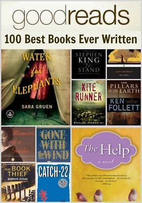Goodreads - 100 Best Books Ever (PDF & MOBI)