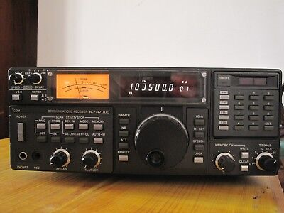 Icom IC-R7000 VHF/UHF Communications Receiver.
