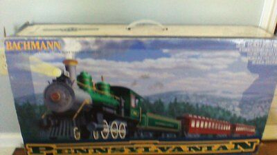 Preowned Pennsylvania N Bachman Big Hauler's Large Scale Complete Electric Train