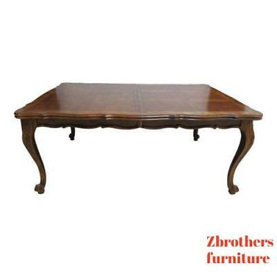 Vintage Century Furnture Country French Oak Conference Dining Room Table