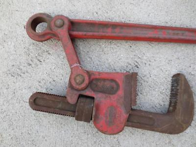 "Ridgid ""Super Six"" 6-Inch Heavy-Duty Compound Leverage Pipe Wrench Industrial 48"