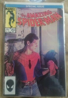 The Amazing Spider-man Comic SPECIAL PHOTO COVER ISSUE #262  *RARE* 1984 Marvel