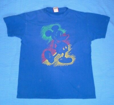 64f7c0d3e Vintage 90s Disney Designs Mickey Mouse Men's Size Large/XL T Shirt Made in  USA