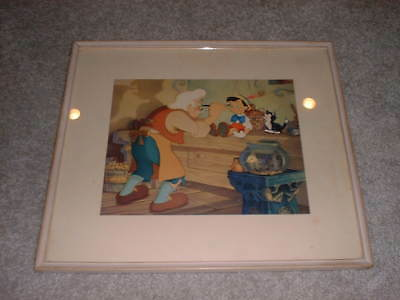 Geppetto Creating Pinocchio Courvoisier Print
