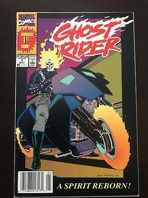 Ghost Rider #1 (May 1990, Marvel) First Print Near Mint