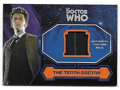 Doctor Who Topps 2015 Costume Wardrobe Relic Card Tenth Doctor's Suit Trousers