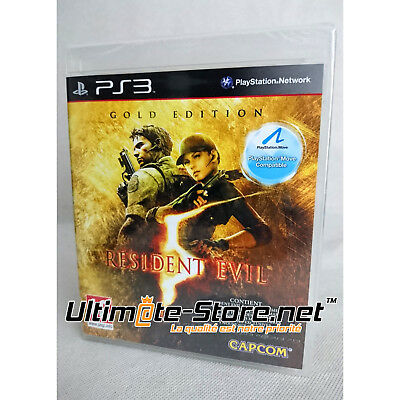 Jeu - RESIDENT EVIL 5 GOLD EDITION - Neuf sous Blister Officiel PS3