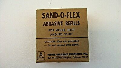 MERIT Sand-O-Flex Refill 350-R & Number 35 Kit, 120 Grit Garnet Cloth Lot of 2