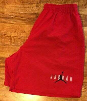 88de356fb9b Authentic Vintage 90'S Nike Air Jordan Red Embroidered Shorts • Mens Size Xl