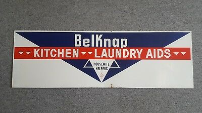 Belknap Bluegrass Kitchen Laundry Aids Metal Sign Hardware Louisville Kentucky