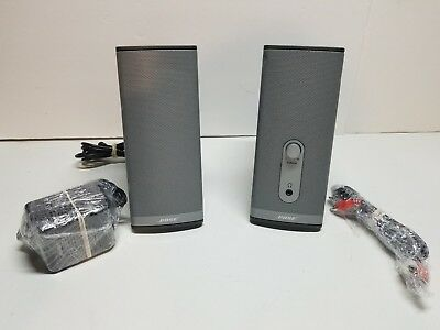 Bose Companion 2 Series Ii Multimedia Speaker System - 2 Speakers Grey