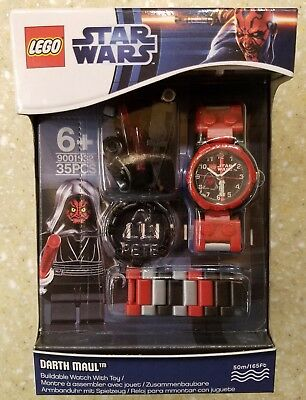 LEGO STAR WARS DARTH MAUL Buildable Watch w/ Minifigure 9001932 2012 NEW