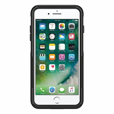 OtterBox Commuter Series Case for iPhone 8 Plus & iPhone 7 Plus, Black