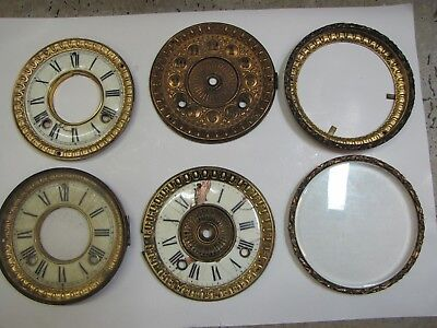 6 x American Dial or Bezel Units