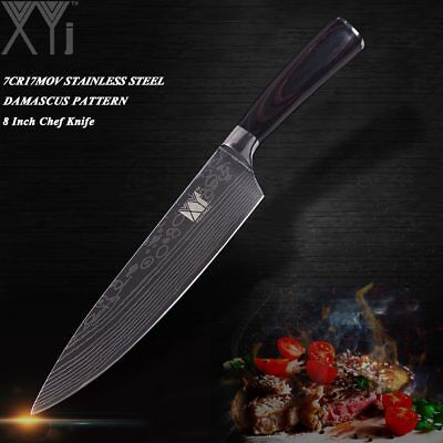 Ultra-thin Blade Stainless Steel Kitchen Knife Vein Chef Knife Cooking Tools