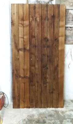 Wooden feather edge gate 6ftx3ft also made to size   we carry stock