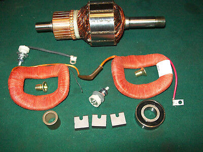 Delco Starter Field Coil Rebuild kit Farmall Super H M W-6 12 Volt Conversion
