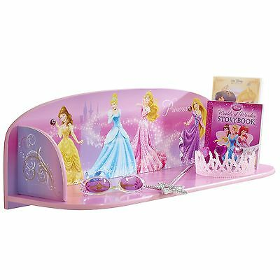 Disney Princess Booktime Mdf Book Shelf New