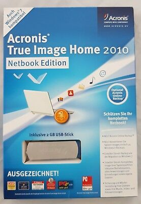 Acronis True Image Home 2010 Netbook Edition (Einzeln) (1 User)