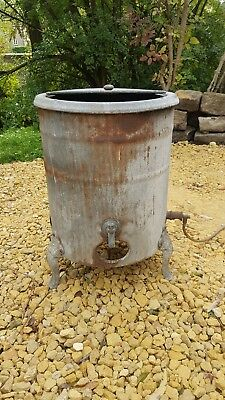 Vintage DEAN Gas Boiler Dolly Tub Washing