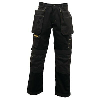 Regatta Black Trj336 Workline Premium Trouser Holster Pocket Knee Pad Pocket