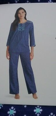 Anne Klein - 3/4 Sleeve PJ Set *** FREE SHIPPING ***  B3