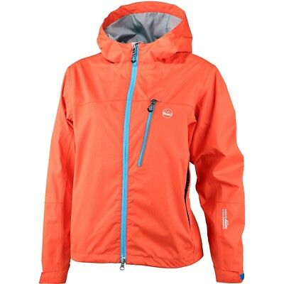 High Colorado Funktionsjacke Lugano B Ki Outdoorjacke Kinder orange/blau NEU