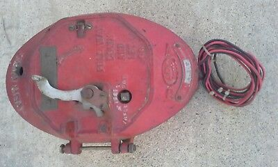 Old Adt Cast Iron Sending Unit For Fire Alarm......look