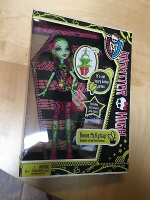 Monster High Venus Mcflytrap  Daughter Of The Plant Monster 2011 1st Release.