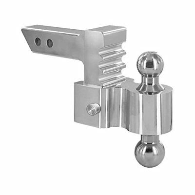 """Andersen Hitches 4"""" Drop/Rise Rapid Hitch with Plated Steel Combo Ball 2"""" x"""