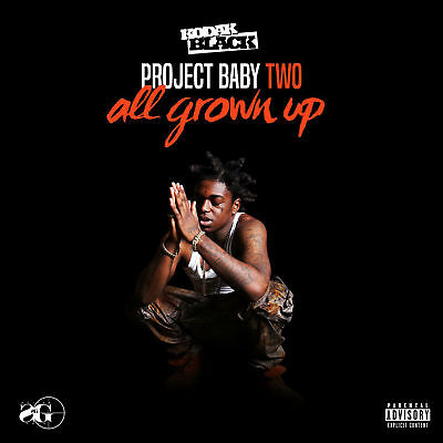 Kodak Black Project Baby 2 All Grown Up Deluxe 2 CD Set Album Mixtape Promo
