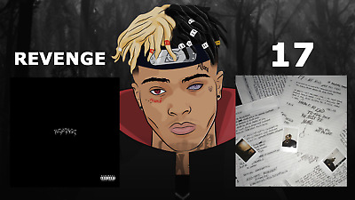 XXXTENTACION 17 & REVENGE 2 CD's Sealed Full Artwork Mixtape Explicit 2017