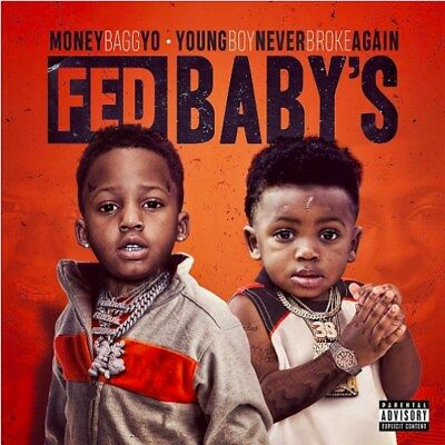 Moneybagg Yo & NBA Youngboy Fed Baby's  Mixtape Album CD 2017 Explicit