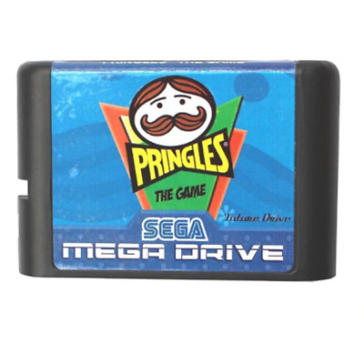 Pringles MD 16 bit Game Card For Sega Mega Drive For Genesis