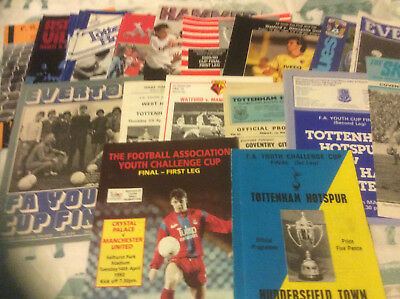 Fa Youth Cup Finals 1968 - 2012 - Select From List