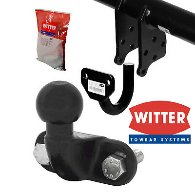 Witter Fixed Flange Towbar For Vauxhall Vectra Hatchback 2002-2009