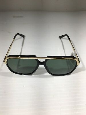 47a94cceaef NEW GUCCI MEN Sunglasses GG0200S 001 Black Gold Green Lens 57mm Authentic -   210.00