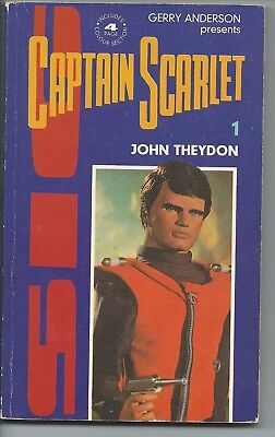 Captain Scarlet 1 Paperback Book by John Theydon Gerry Anderson 1st Print 1989