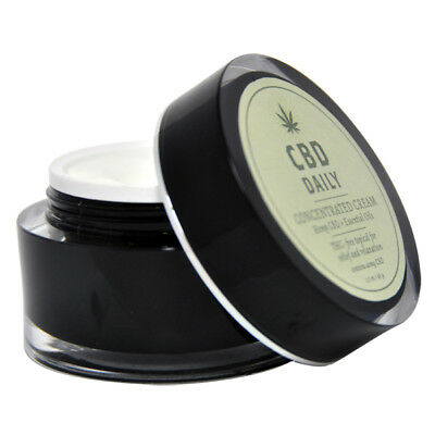 Earthly Body CBD Daily Topical Intensive Cream THC Free 1.7oz