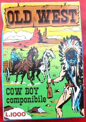 Old West - Cowboy Componibile - Anni 70